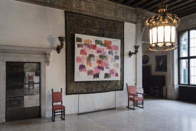 Förg in Venice. Exhibition view at Palazzo Contarini Polignac, Venezia 2019. Photo Lorenzo Palmieri