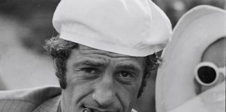 """Jean-Paul Belmondo On The Set Of """"Borsalino"""" By Jacques Deray In Marseille, France In 1970."""