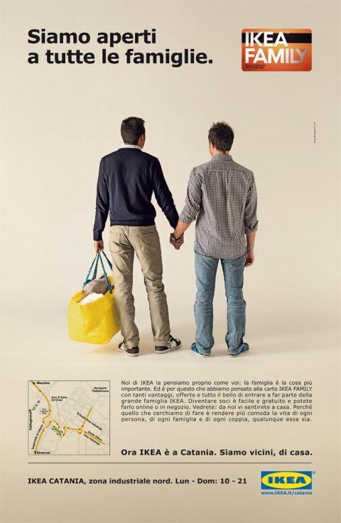 Ikea Family – manifesto per lo store di Catania