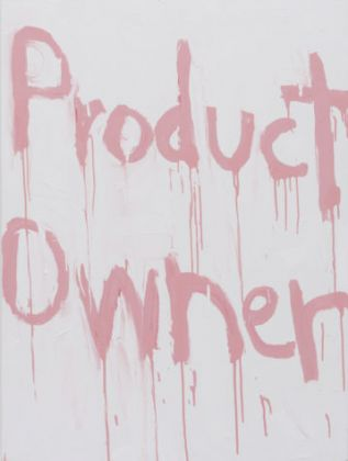 Kim Gordon, Product Owner, 2017, courtesy of the artist and 303 Gallery, New York