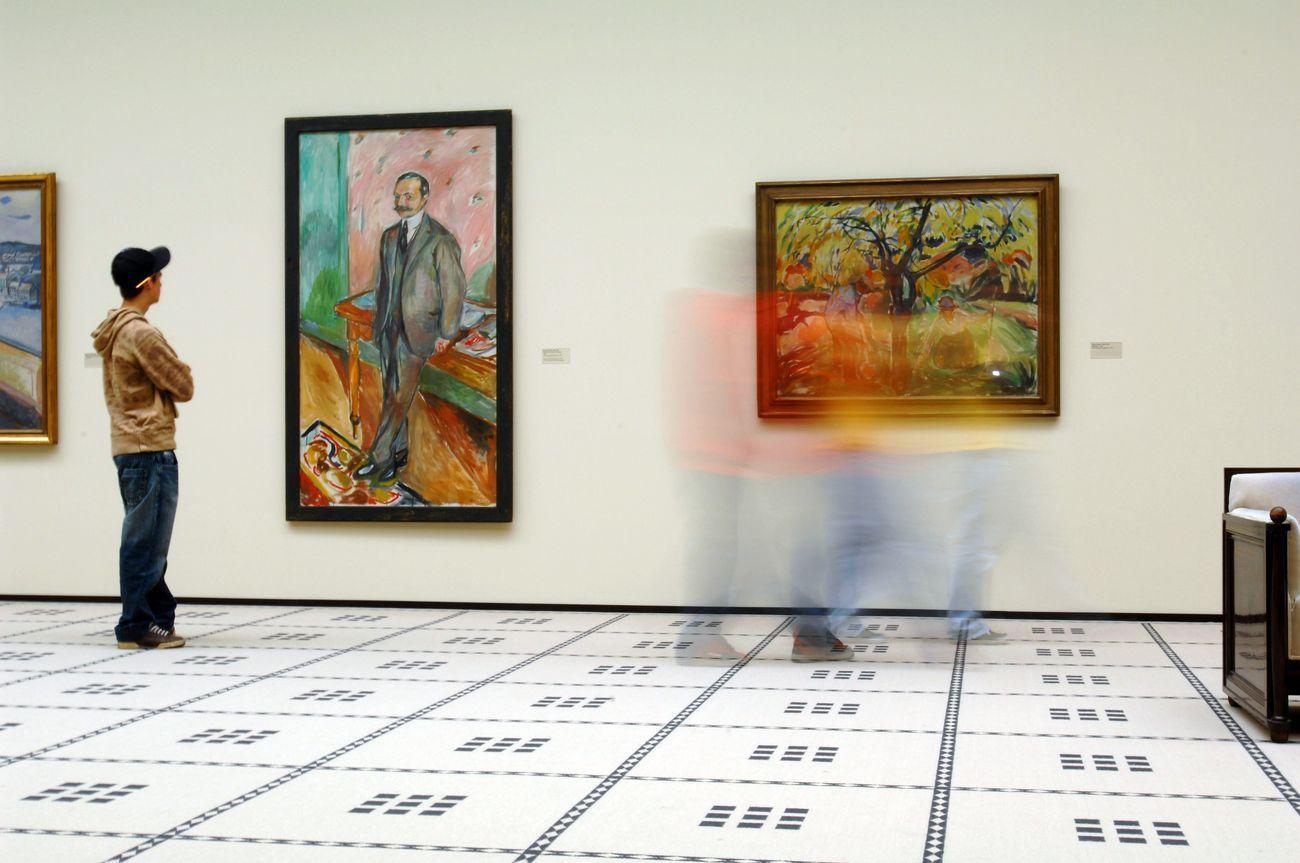 Kunsthaus Zürich. Edvard Munch. Photo © www.jpg-factory.com