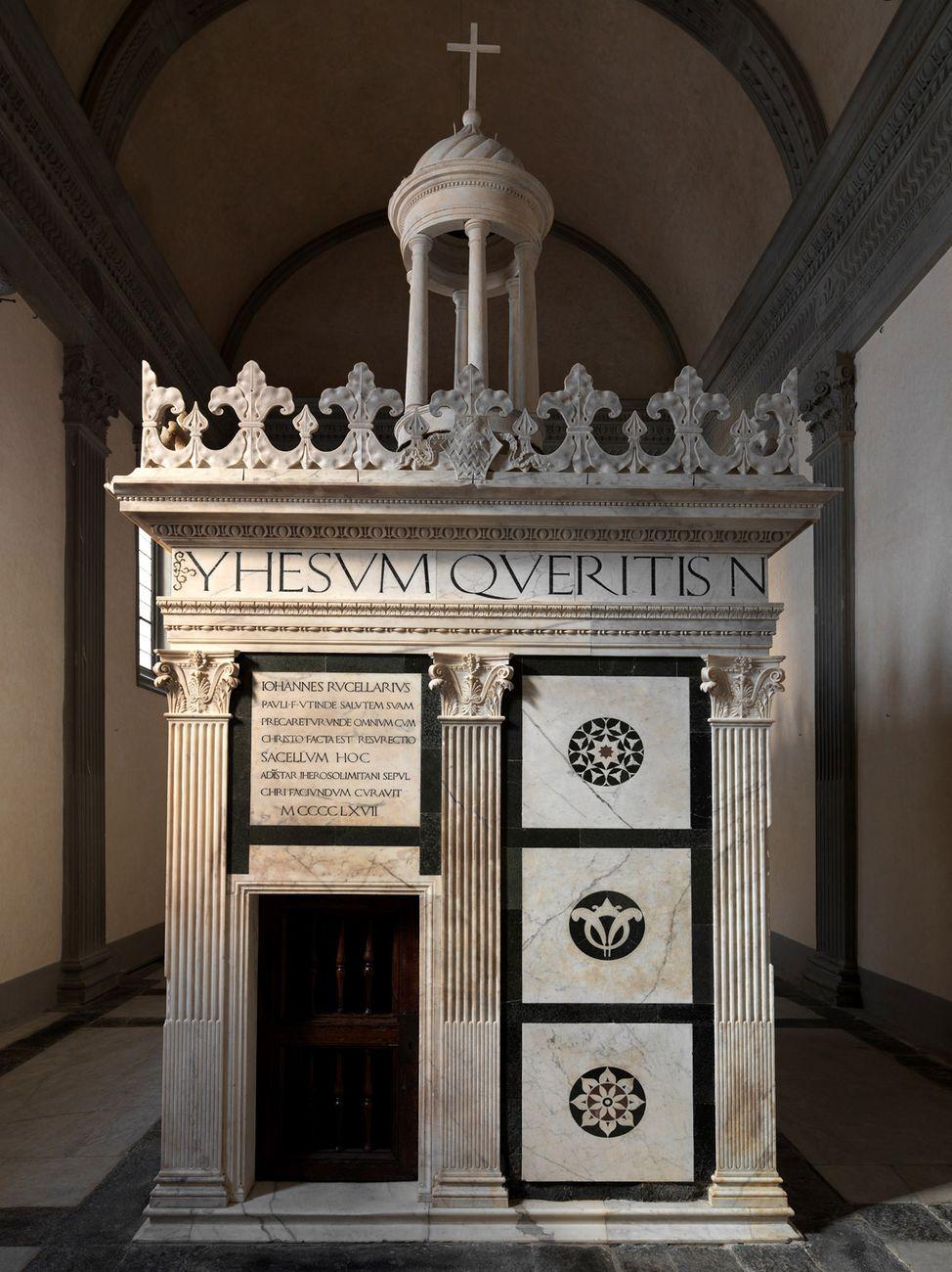 La cappella Rucellai, Museo Marino Marini, Firenze 2019