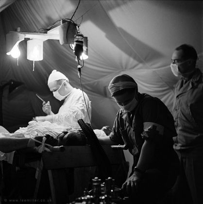 Lee Miller, Surgeon and anaesthetist © Lee Miller Archives England 2018. All Rights Reserved. www.leemiller.co.uk