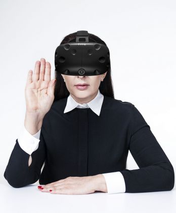Marina Abramović, 2018, Courtesy of Acute Art
