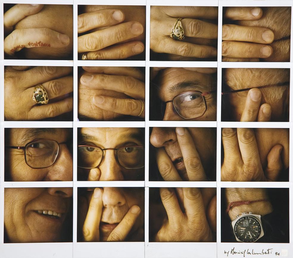 Maurizio Galimberti Franco Fontana, 1994 Collage, 16 polaroid Copyright Maurizio Galimberti Courtesy Comune di Modena, Fondo Franco Fontana - Galleria Civica di Modena - FONDAZIONE MODENA ARTI VISIVE