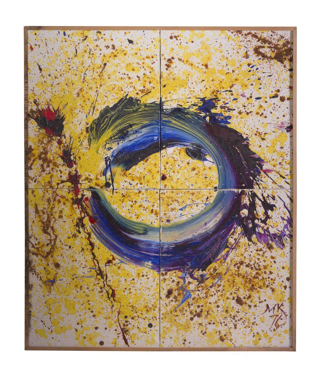 Mikhail Kulakov, Physical space 1, 1976