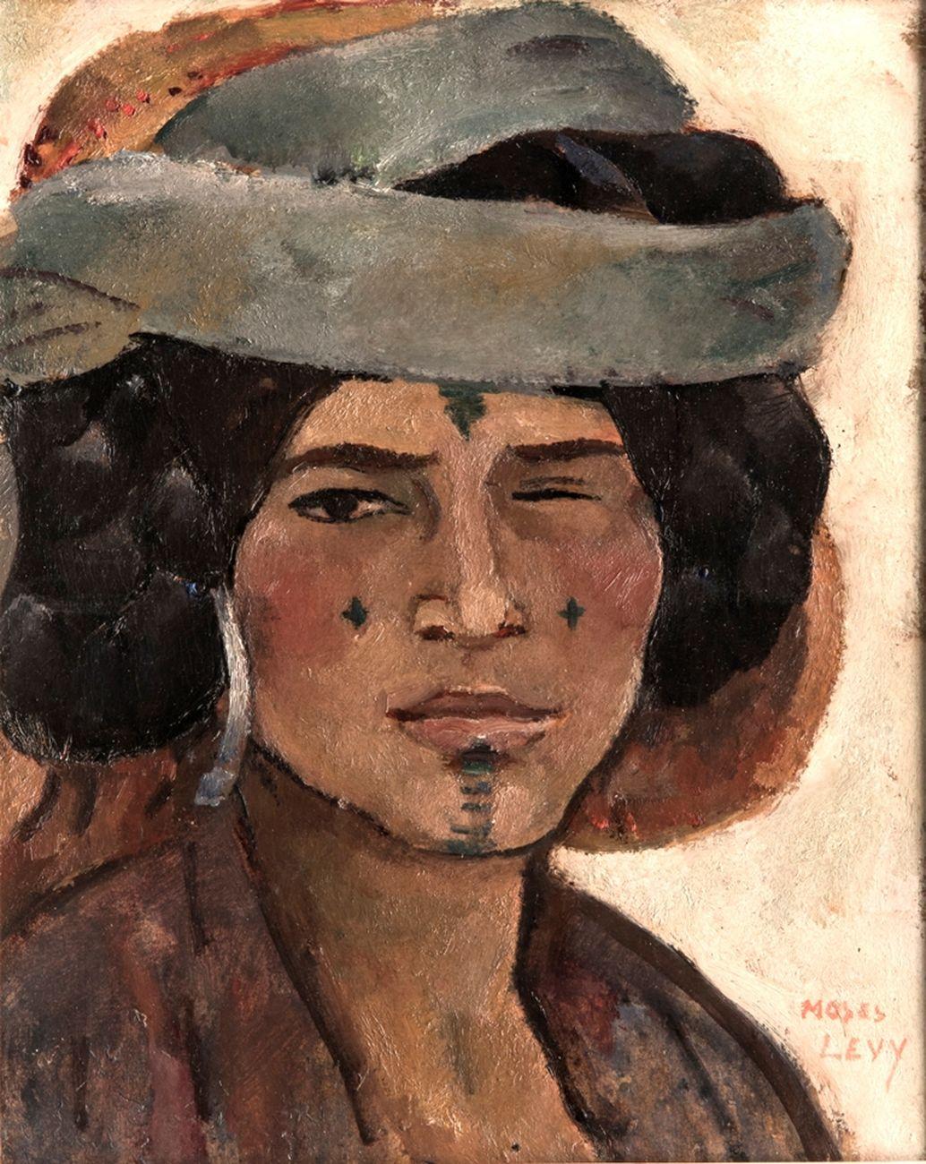 Moses Levy, Beduina cieca, 1925. Collezione privata