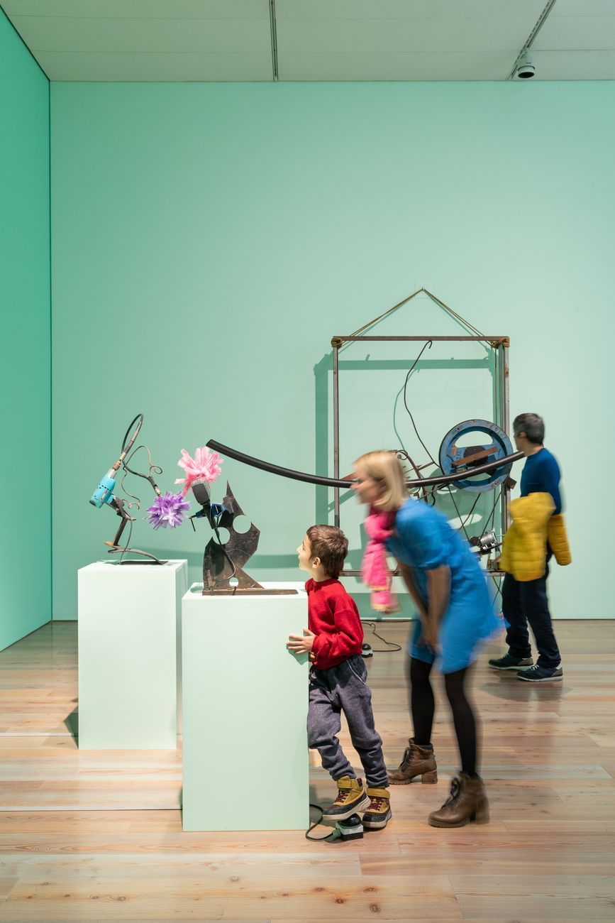 Museum Tinguely, Basilea, interno. Photo © Donata Ettlin