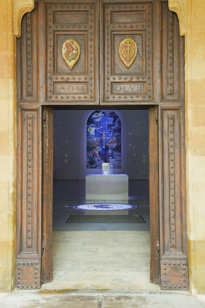 Nico Löpez Bruchi. MENTISUGHE E MENTIFUGHE. Exhibition view at Fondazione Cassa di Risparmio di Volterra, 2019