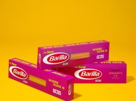 Packaging New Barilla by GCDS