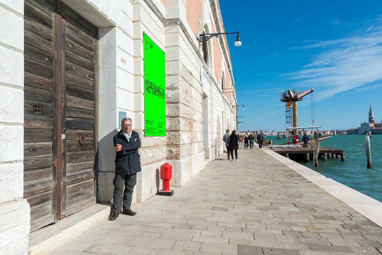 Peter Halley a Venezia, 2019