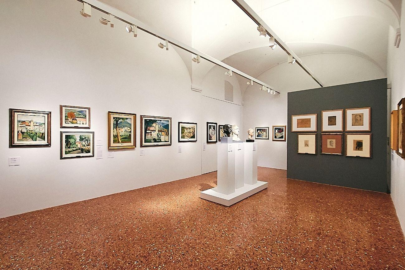 Pistoia Novecento. 1900-1945. Installation view at Fondazione Pistoia Musei, Pistoia 2019