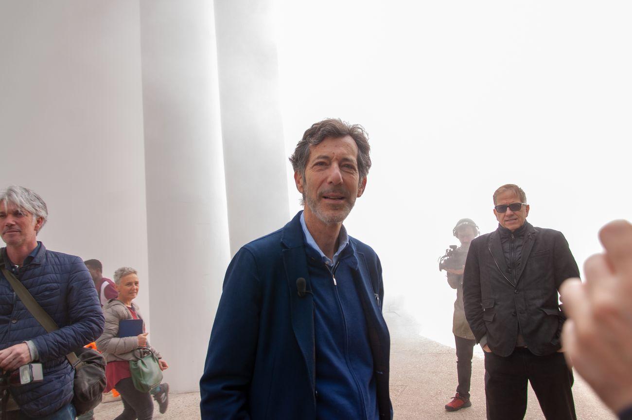 Ralph Rugoff, Biennale Arte 2019, Venezia, photo Irene Fanizza