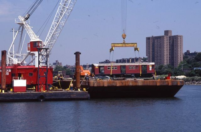 Redbird Reefing, 2001 Courtesy of the New York Transit Museum