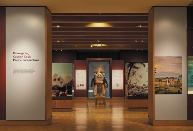 Reimagining Captain Cook. Pacific Perspectives. Exhibition view at The British Museum, London 2019