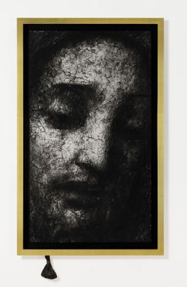 Robert Longo, Untitled (Head of Christ), 2019. Courtesy the Artist & Galleria Mazzoli