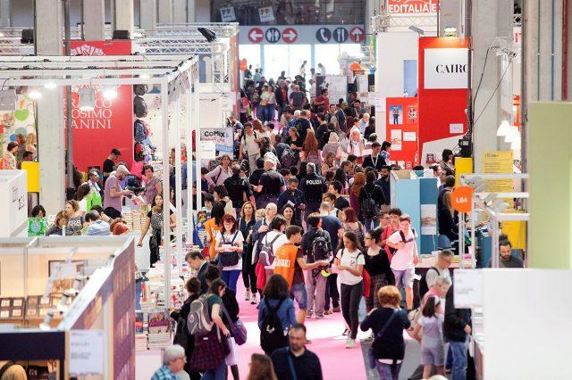 Salone Internazionale del libro di Torino. Foto d'archivio