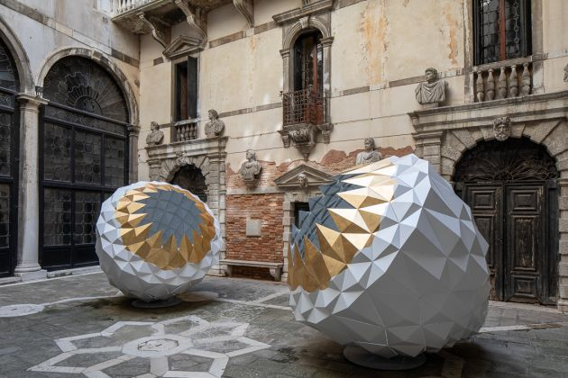 THE SPARK IS YOU: Parasol unit in Venice Installation view at Conservatorio di Musica Benedetto Marcello, Venice, 2019. Courtesy of the artist and Parasol unit. Photography by Francesco Allegretto