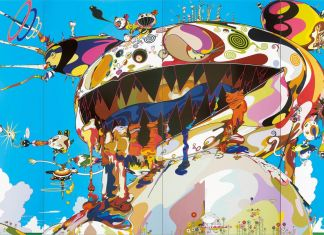 Takashi Murakami, Tan Tan Bo Puking a.k.a. Gero Tan, 2002. Photo Adam Reich. Courtesy Galerie Perrotin