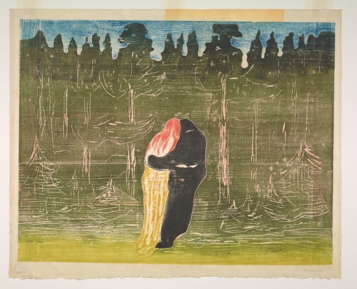 Towards the Forest II, 1897-1915, Edvard Munch, Munchmuseet