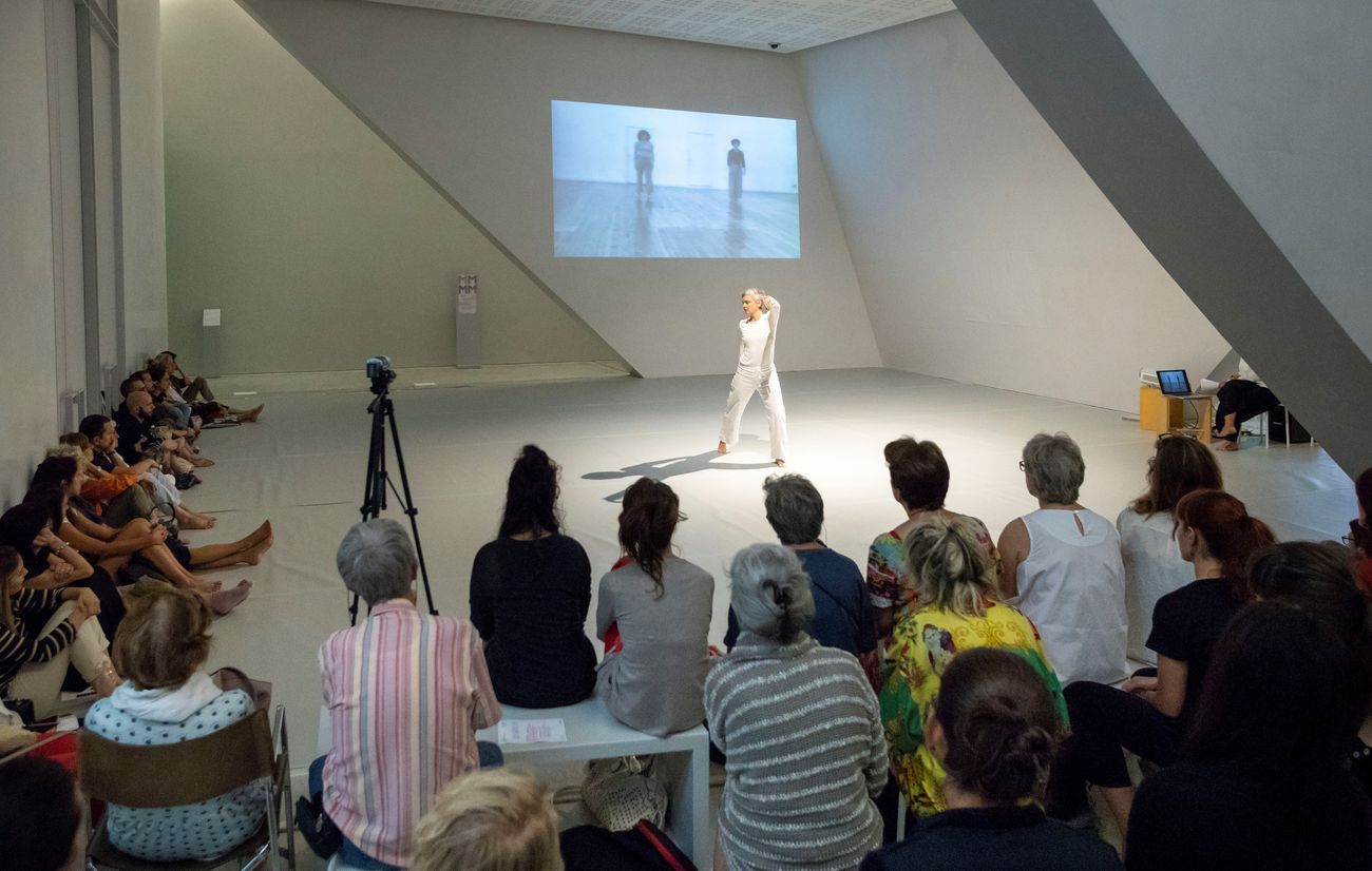 Trisha Brown. Danza, archivio, trasmissione, courtesy Palazzo Grassi