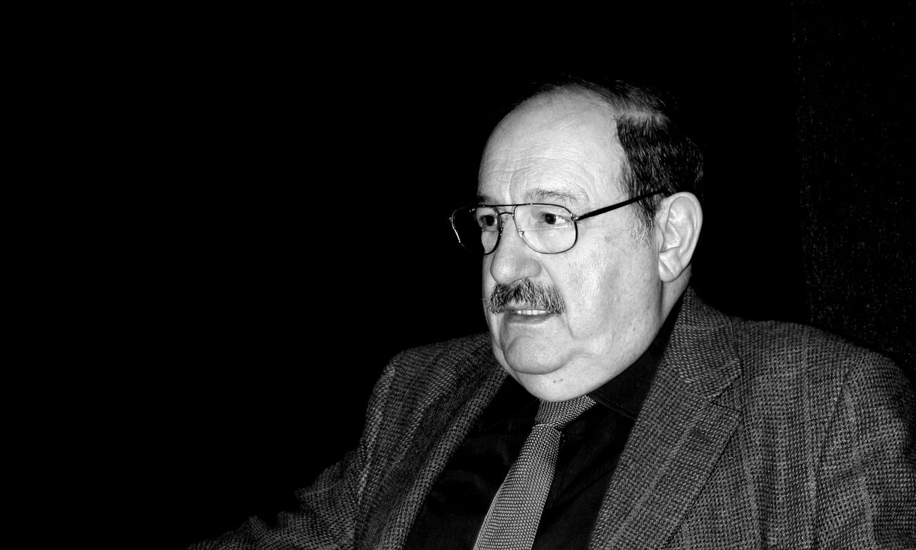 Umberto Eco. Photo Abderrahman Bouirabdane CC by sa 2.0