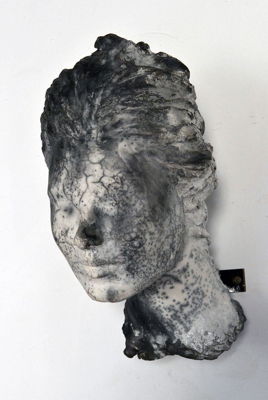 Verdiana Patacchini, Testa, dalla serie Mappe, 2018. Photo Paolo Ragazzini