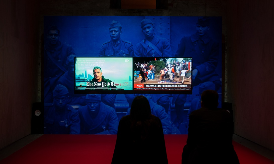 Biennale Arte 2019 Arsenale, Kahlil Joseph, photo Irene Fanizza