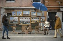 Banksy a Venezia. Ph. Courtesy Banksy - www.banksy.co.uk