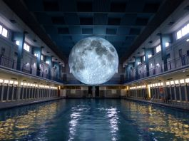 Museum of the Moon at Tombees de la nuit, Rennes