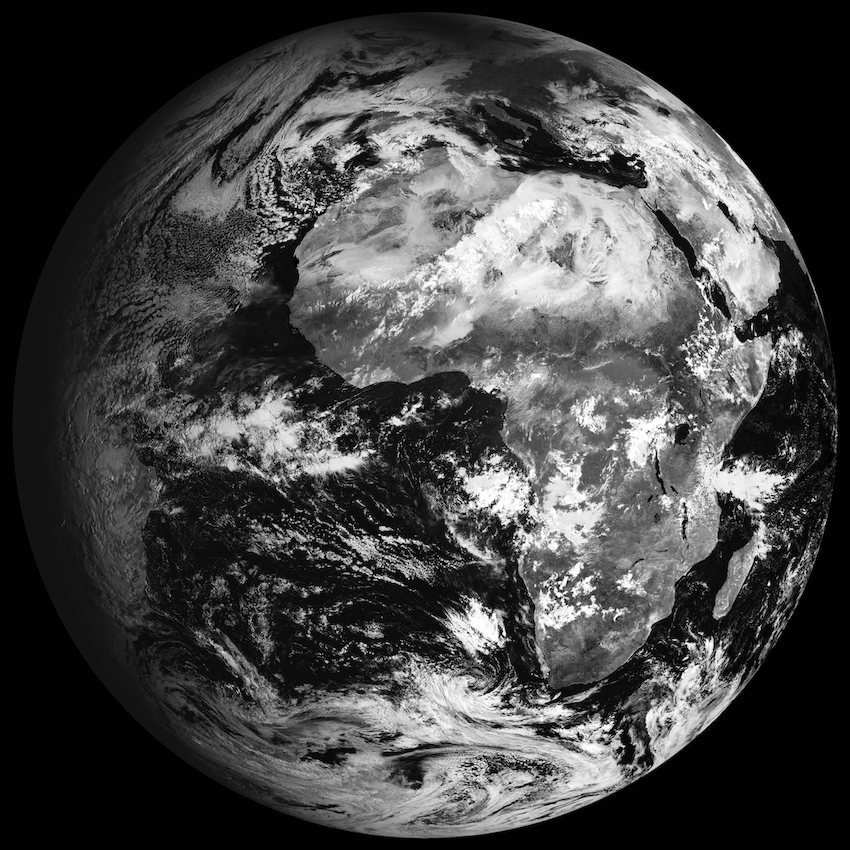 Globes: Meteosat Second Generation, ASI - Centro di Geodesia Spaziale Giuseppe Colombo