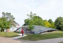 Serpentine Pavilion 2019 by Junya Ishigami, Serpentine Gallery, Londra © Norbert Tukaj