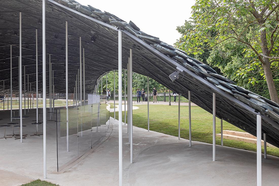 Serpentine Pavilion 2019 by Junya Ishigami, Serpentine Gallery, Londra © Norbert Tukaj