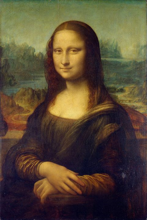 Mona Lisa, by Leonardo da Vinci, from C2RMF retouched
