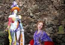 Rachel Feinstein a Chatsworth House nel Derbyshire per Artist in Residence di Gucci