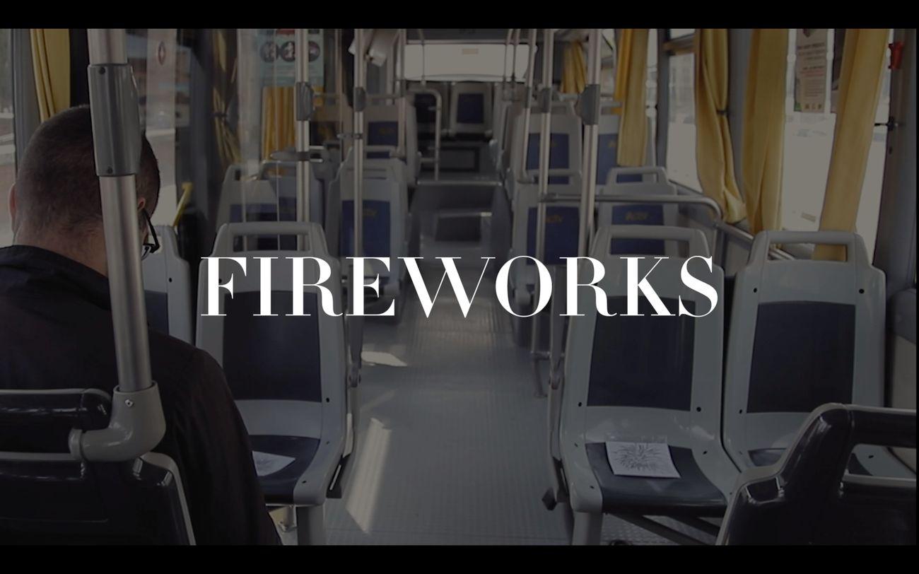 Rebecca Moccia, Fireworks (2019), video still, courtesy l'artista e galleria Massimodeluca