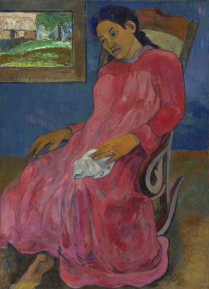 Paul Gauguin, Melancholic Faaturuma, 1891 ph. Nelson Atkins Media Services Chris Bjuland and Joshua Ferdinand