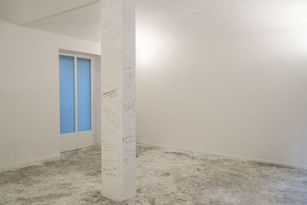 Andrea Famà. Famà chi? Exhibition view at Galleria Davide Paludetto, Torino 2019. Photo Jessica Quadrelli