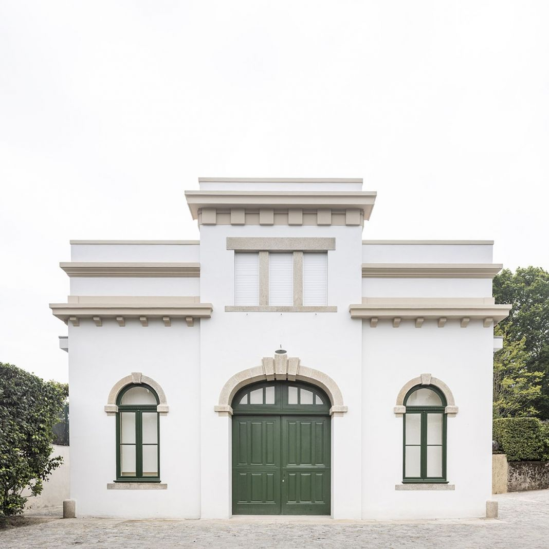 Casa do Cinema Manoel de Oliveira. Il vecchio garage di Villa Serralves riconvertito