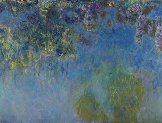 Claude Monet, Glicini, 1917 1920. Gemeentemuseum, L'Aja