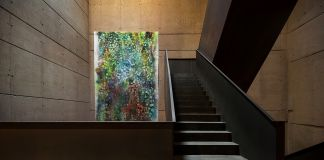 "Sam Falls, ""Untitled (Antinori)"" per Antinori Art Project – Photo Courtesy Marchesi Antinori"