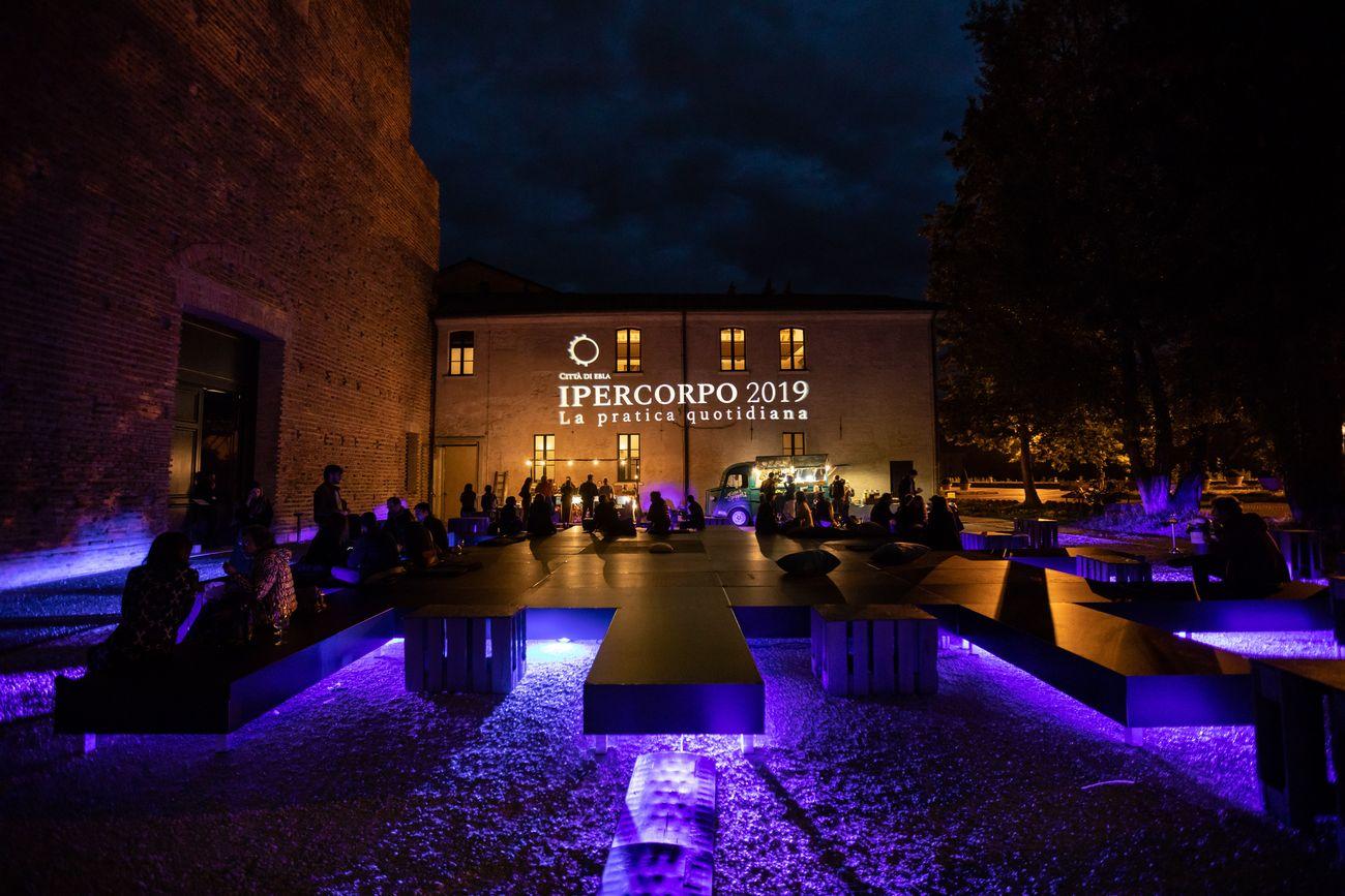 Eblae urbis forum, sede del festival Ipercorpo, Forlì 2019. Photo Gianluca Camporesi