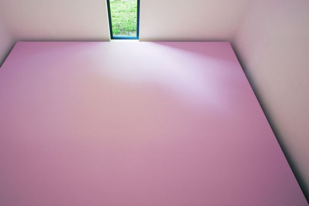 Ettore Spalletti, Rosa, fior di pesco, 2009. Museum Kurhaus Kleve, Cleves. Photo credits Werner J. Hannappel