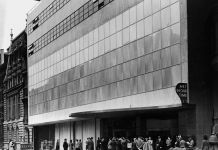 Exterior view of The Museum of Modern Art, 1939