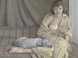 Lucian Freud, Girl with a White Dog, BACON, FREUD E LA SCUOLA DI LONDRA