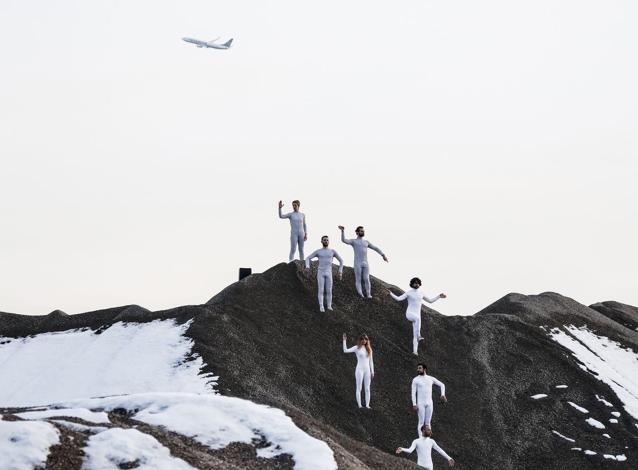 Fabrizio Favale e Compagnia Le Supplici, Le stagioni invisibili. Inverno. Photo Paolo Cortesi