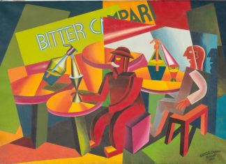 Fortunato Depero, Squisito al selz, 1926. Courtesy Lucca Center of Contemporary Art