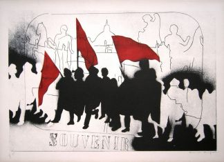 Franco Angeli, Souvenir, 1968. Courtesy Mascherino Arte Contemporanea, Roma