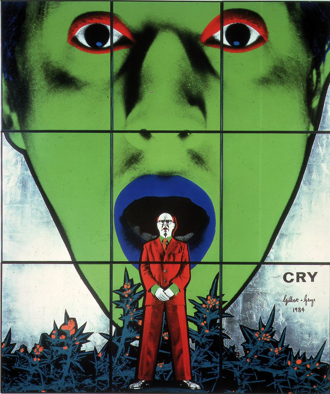 Gilbert & George, Cry, 1984. Courtesy of the artists © Collection Pinault