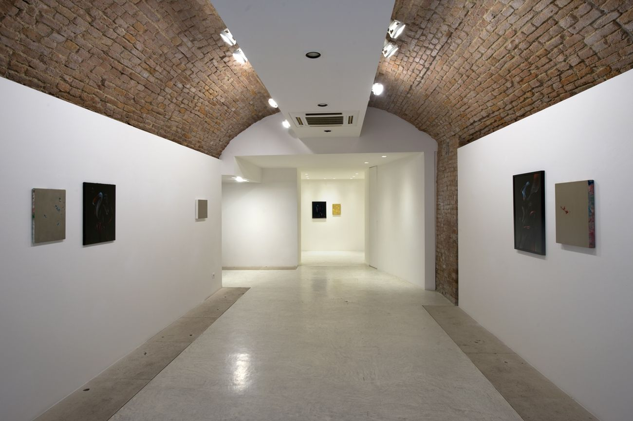 Giuliano Vanni. La Firma sul fronte. Installation view at Spaziosiena, Siena 2019. Photo Andrea Lensini